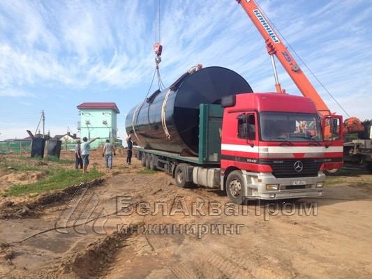 Пожарный резервуар Боровляны1