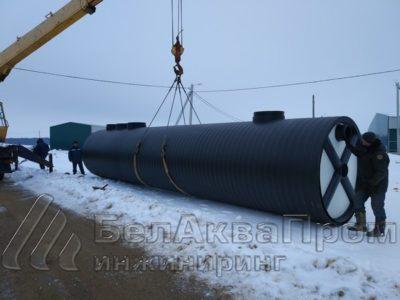 В Минске маслоотделитель с интегрированным пескоуловителем