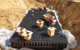 дренажные блоки в катловане
