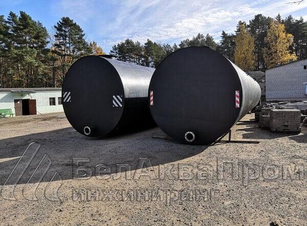 подземные резервуары для воды