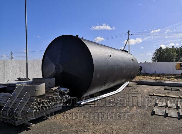 цилиндрические резервуары для воды