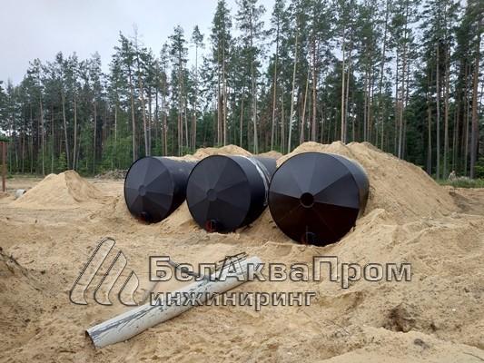 Резервуары на военную часть боеприпасов5