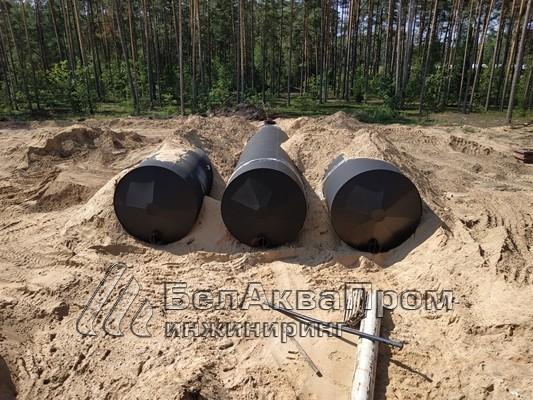 Резервуары на военную часть боеприпасов3