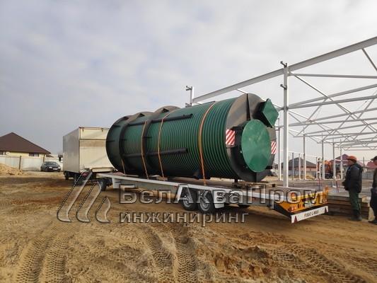 Резервуары для аэропорта в Болбасово2