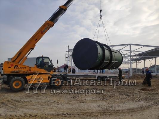 Резервуары для аэропорта в Болбасово5