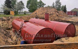 Резервуары для школы Кобрин1