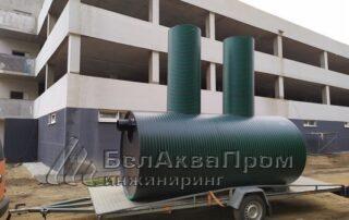 Питьевые резервуары на Пушки6