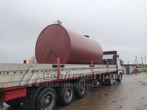 Резервуары для зерносушильного комплекса в Чуриловичах8