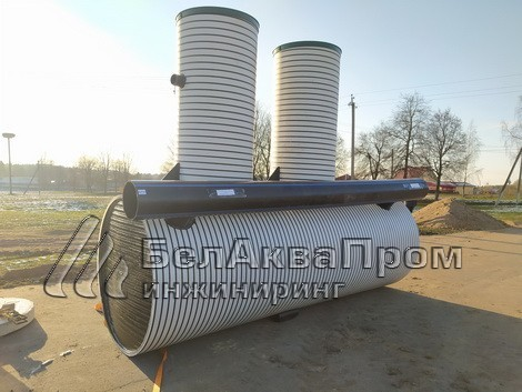 Поставка очистных для МТФ в Калиново4